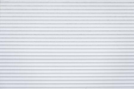 Photo pour Light gray texture abstract background of horizontal lines. Front view. - image libre de droit