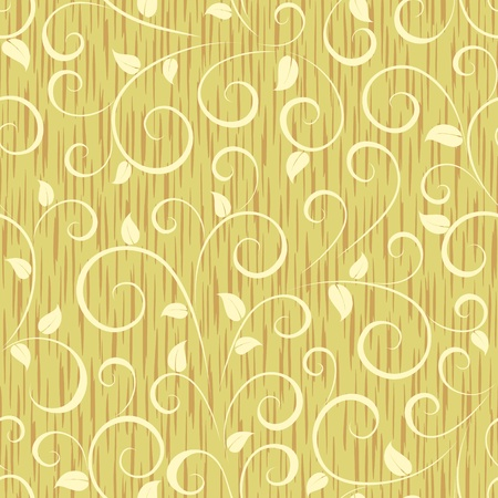 floral abstract leaves seamless background pattern