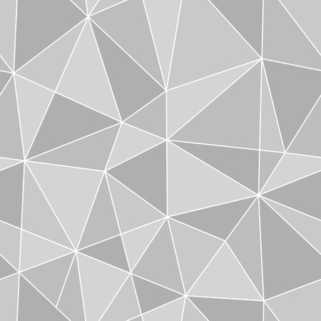 Ilustración de seamless triangles texture, abstract vector art illustration - Imagen libre de derechos
