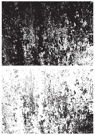 Grunge black and white texture. Distress texture. Scratch texture. Wall background. Rubber stamp texture. Rough texture. Rust texture. Damaged wall texture
