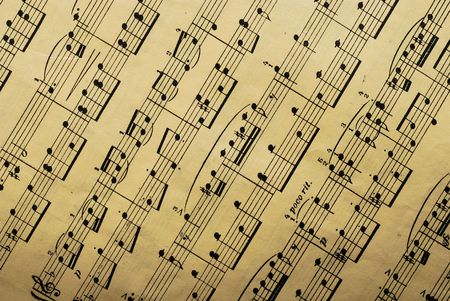 music paper sheet