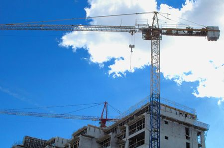 Construction site, real estate issues, flat building issues, heaven, dream metaphors