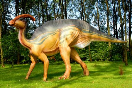 Parasaurolophus walkeri, Parasauroloph, dinosaurs series, jurassic park, education, concept