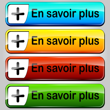 French translation for read more colorful buttons