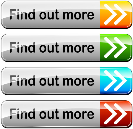 illustration of find out more buttons set