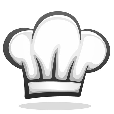 Illustration for Vector illustration of chef hat icon design - Royalty Free Image