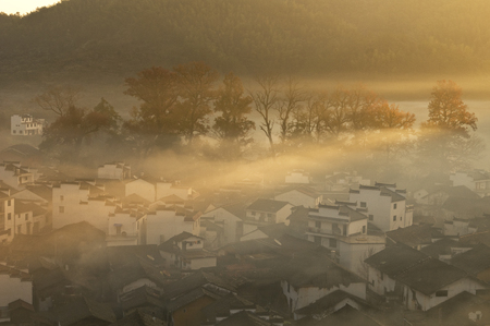 Wuyuan with marvelous scenery