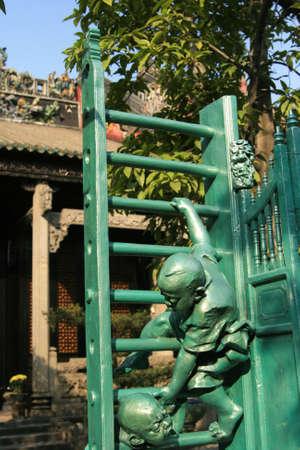 Chen Clan sculpture