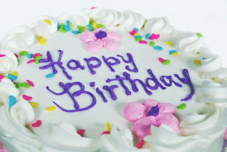 Prime Fancy Birthday Cake With Candy Sprinkles Royalty Free Images Funny Birthday Cards Online Alyptdamsfinfo