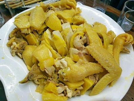 Sliced Boiled Chicken