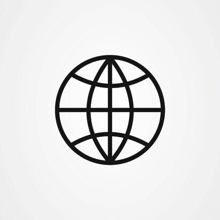 Illustration for Web icon design. website symbol vector illustration - Royalty Free Image