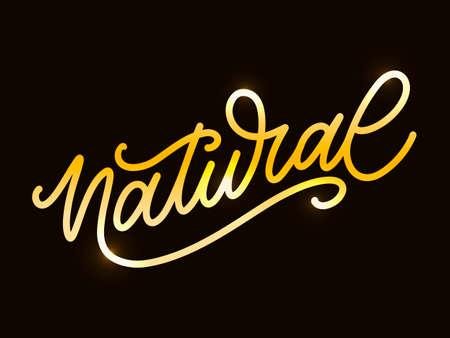 Illustration pour 100 Natural Vector Lettering Stamp brush - image libre de droit