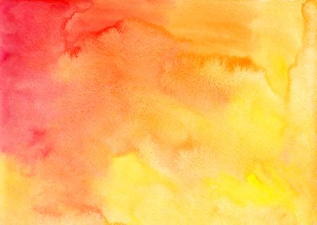 Orange watercolor vector background in album formatの素材 [FY31028966547]