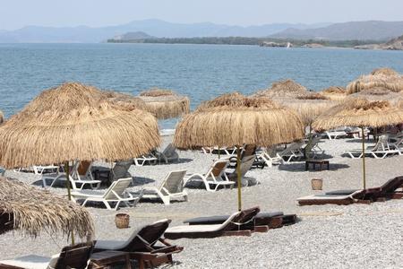 Calis beach in Turkey,july, 2013