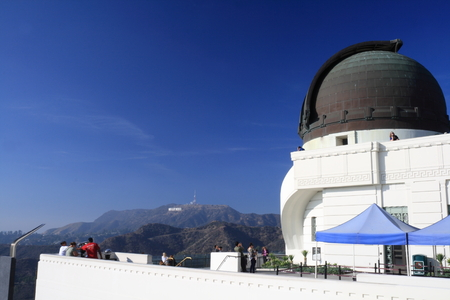 observatory in Hollywood Hills