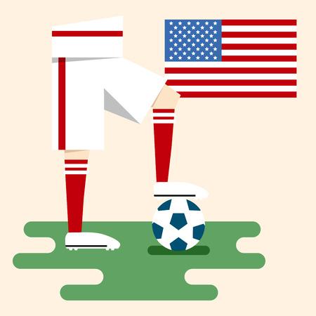 USA, National soccer kits