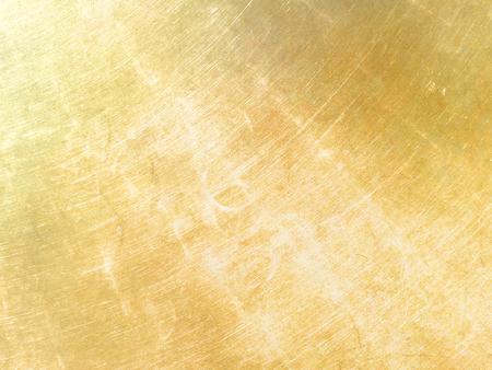 Photo pour Gold metal background with sparkle effects - image libre de droit