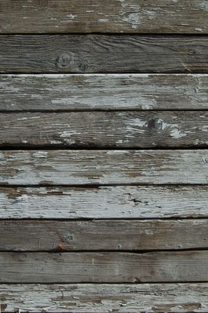 Aged old worn painted wood plank background