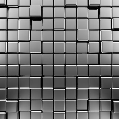 Metallic background  High quality 3d render