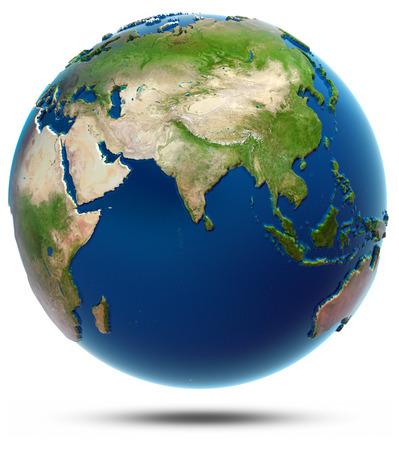 World map - Indian Ocean: Lizenzfreie Bilder und Fotos