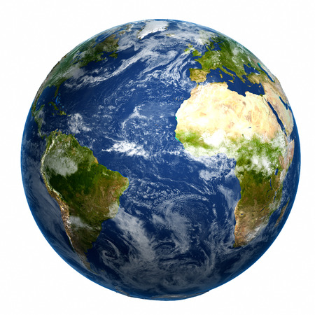 Foto de Earth globe. Elements of this image furnished - Imagen libre de derechos