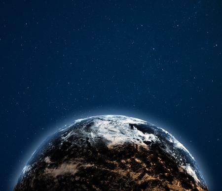 Foto de World globe weather background. - Imagen libre de derechos