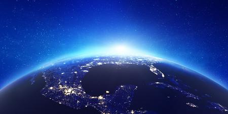 Foto de America city lights. - Imagen libre de derechos