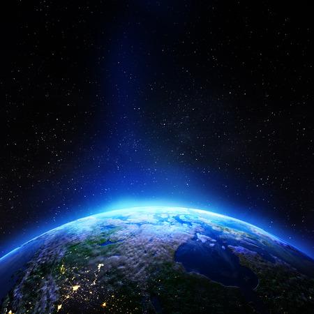 Foto de Canada galaxy stars.  3d rendering - Imagen libre de derechos