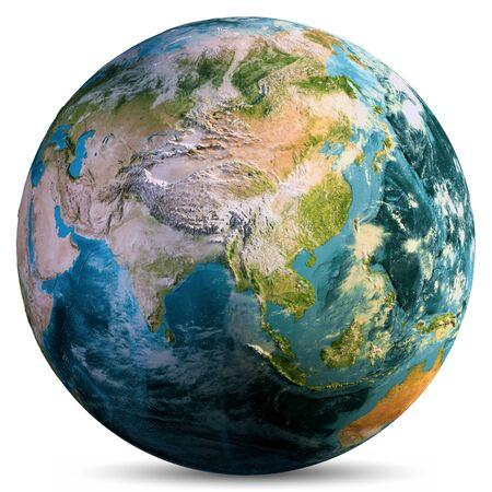 Foto de Planet Earth isolated. - Imagen libre de derechos