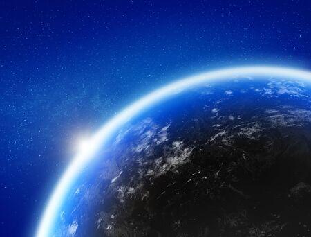 Foto de Earth from space - Imagen libre de derechos