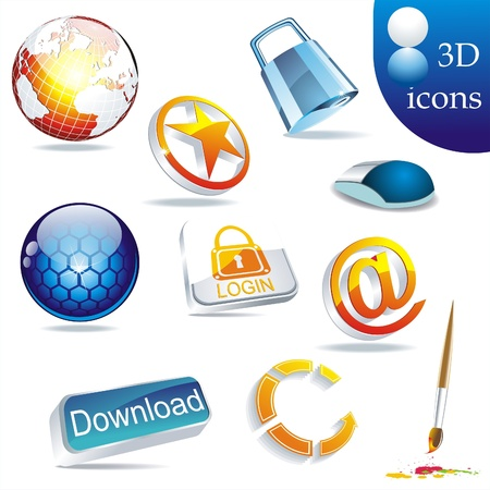 icon set: web