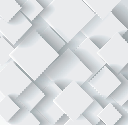 Illustration for Vector Abstract geometric paper background - Royalty Free Image