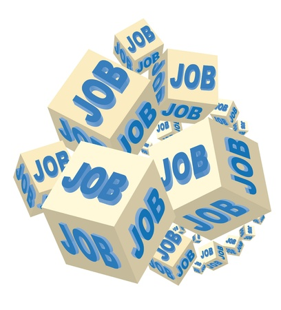 job on several cubes for a corporate job