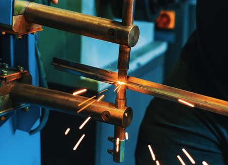 Photo pour Spot Welding Machine. - image libre de droit
