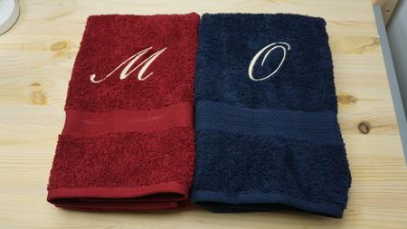 Photo pour Embroidery Towels - image libre de droit