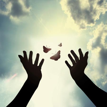 Photo pour giving a new hope - image libre de droit