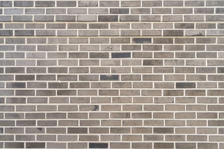 Photo pour Gray pattern brick wall texture and background. - image libre de droit
