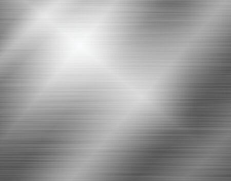Photo pour Grey shiny stainless steel metal background - image libre de droit