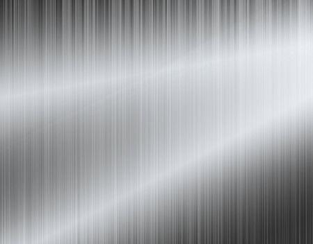 Photo pour Metal background or texture of brushed aluminum plate - image libre de droit