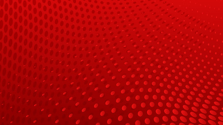 Abstract halftone dots background in red colors
