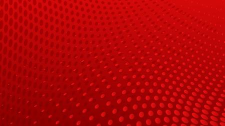 Ilustración de Abstract halftone dots background in red colors - Imagen libre de derechos