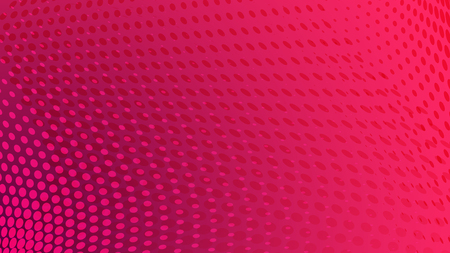 Abstract halftone dots background in pink colors