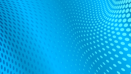 Illustration pour Abstract halftone dots background in light blue colors - image libre de droit