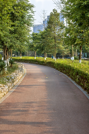 Foto per Sports track in the park - Immagine Royalty Free