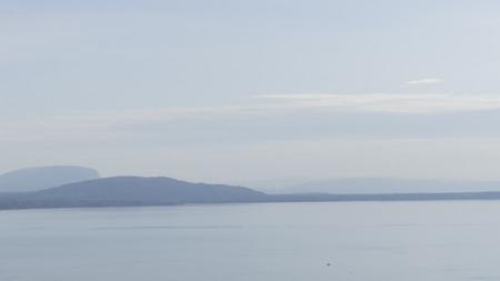 Photo pour Landscape on the Lake - image libre de droit