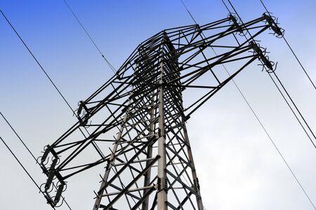 Photo pour Electricity pylon - image libre de droit