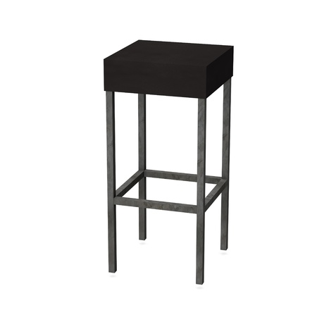 3d render of bar chair