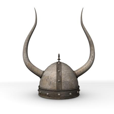 3d render of old helmet