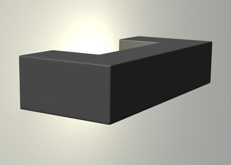 3d render of light (lamp)