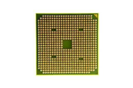 close up of a processor